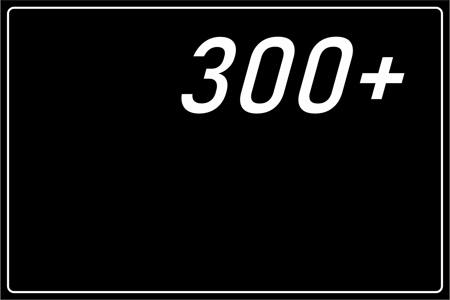 300+ Rides Conducted